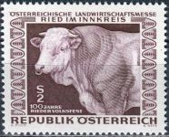 (1967) MiNr. 1244 ** - Rakousko - Rakouský zemědělský veletrh, Ried im Innkreis;