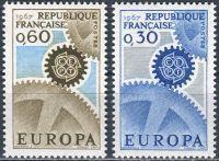 (1967) MiNr. 1578 - 1579 ** - Francie - Europa