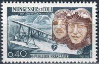 (1967) MiNr. 1580 ** - Francie - 40. výročí úmrtí Karla Nungessera a Françoise Coliho