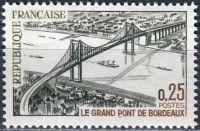 (1967) MiNr. 1581 ** - Francie - Velký most Bordeaux