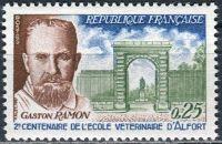 (1967) MiNr. 1584 ** - Francie - 200 let veterinární škola v Alfortu