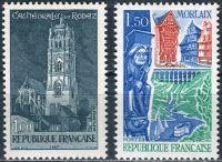 (1967) MiNr. 1585 - 1586 ** - Francie - Cestovní ruch