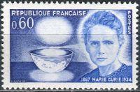 (1967) MiNr. 1600 ** - Francie - 100. narozeniny Marie Curie-Sklodowska