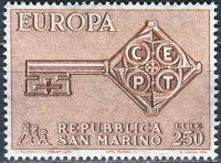 (1968) MiNr. 913 ** - San Marino - EUROPA