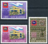 (1971) MiNr. 977 - 979 ** - San Marino - Kongres filatelistického tisku Itálie v San Marinu