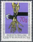 (1975) MiNr. 1483 ** - Rakousko - bezpečnostní pás