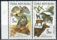 (2000) č. 273 - 274  ** - 2-bl - ČR - vada 12/2 - Myslivost v ročních obdobích - P + Z