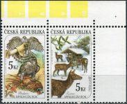 (2000) č. 273 - 274  ** - 2-bl - ČR - vada 9/2 - Myslivost v ročních obdobích - P + Z
