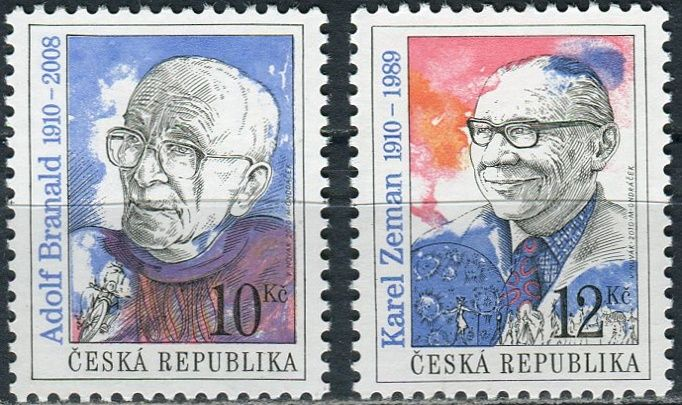 (2010) č. 652-653 ** - ČR -  Osobnosti