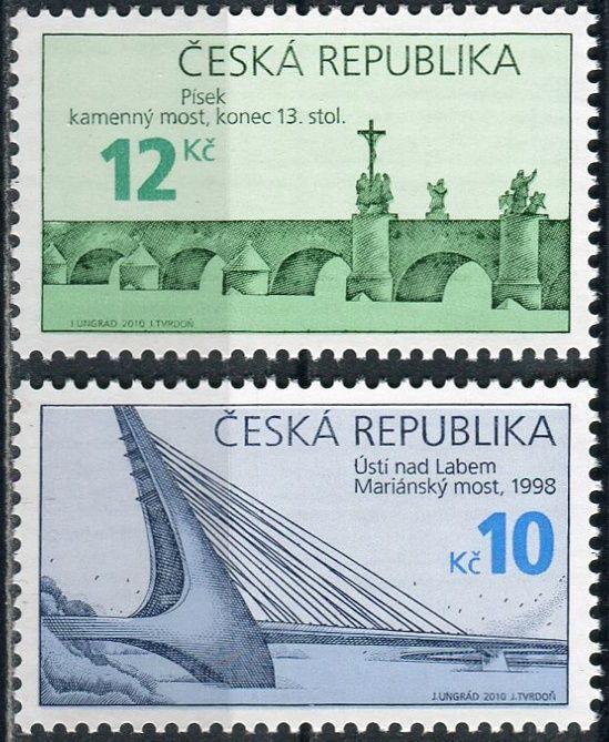 (2010) č. 656-657 ** - ČR - Technické památky - Mosty
