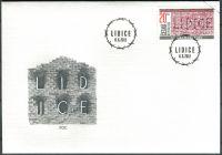 (2012) FDC 722 - 70. výročí vyhlazení Lidic
