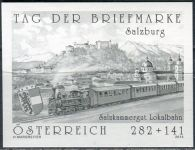 (2013) MiNr. 3087 ** - Rakousko - černotisk -  Den známky - Salzkammergut Lokalbahn