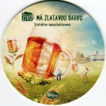 Brno - Starobrno pivovar - Má zlatavou barvu