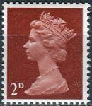 (1967) MiNr. 454 ** - Velká Británie - Královna Alžběta II