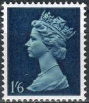 (1967) MiNr. 464 ** - Velká Británie - Královna Alžběta II