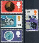 (1967) MiNr. 470 - 473 ** - Velká Británie - Britské vynálezy a objevy