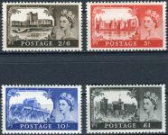 (1967) MiNr. 477 - 480 ** - Velká Británie - Poštovní známky: hrady
