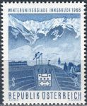 (1968) MiNr. 1257 ** - Rakousko - Zimní Univerziáda, Innsbruck