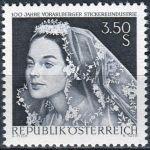 (1968) MiNr. 1261 ** - Rakousko - 100 let ve Vorarlberském průmyslu vyšívání