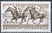 (1968) MiNr. 1265 ** - Rakousko - 100 let Dostihy Vídeň - Freudenau