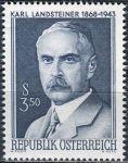 (1968) MiNr. 1266 ** - Rakousko - 100. výročí narození Karla Landsteiner