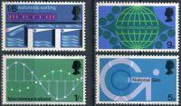 (1969) MiNr. 528 - 531 ** - Velká Británie - Technologie pošty