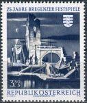 (1970) MiNr. 1334 ** - Rakousko - 25 let Bregenz Festival