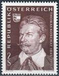 (1970) MiNr. 1336 ** - Rakousko - 125. narozeniny Toma Koschata