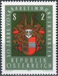 (1970) MiNr. 1343 ** - Rakousko - 50. výročí korutanského plebiscitu
