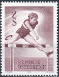 (1970) MiNr. 1348 ** - Rakousko - Sport (IV)