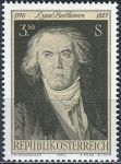 (1970) MiNr. 1352 ** - Rakousko - 200. narozeniny Ludwiga van Beethovena