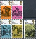 (1970) MiNr. 544 - 548 ** - Velká Británie - 100. výročí úmrtí Charlese Dickense, 200. narozeniny Wi