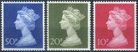 (1970) MiNr. 549 - 551v ** - Velká Británie - Královna Alžběta II