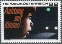 (1971) MiNr. 1354 ** - Rakousko - bezpečnost silničního provozu