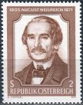 (1971) MiNr. 1364 ** - Rakousko - 100. výročí smrti Augusta Neilreicha