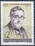 (1971) MiNr. 1378 ** - Rakousko - 100. narozeniny Ericha Tschermaka-Seysenegga