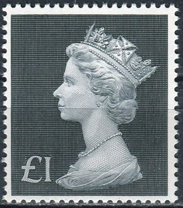 (1972) MiNr. 611 ** - Velká Británie - Královna Alžběta II