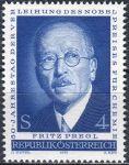 (1973) MiNr. 1436 ** - Rakousko - 50. výročí udělení Nobelovy ceny za chemii - Fritz Pregl