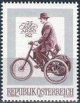 (1974) MiNr. 1451 ** - Rakousko - 75 let automobilové, motoristické a cyklistické federace Rakouska