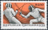 (1974) MiNr. 1456 ** - Rakousko - Sport (VII)