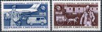 (1974) MiNr. 1466 - 1467 ** - Rakousko - 100 let Světová poštovní unie (UPU)