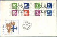 (1978) FDC - MiNr. 775 - 782 - Norsko - Mezinárodní výstava poštovních známek NORWEX 1980, Oslo