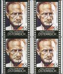 (2009) MiNr. 2803 ** - Rakousko - 4-bl - Rakušané v Hollywoodu: Fred Zinnemann