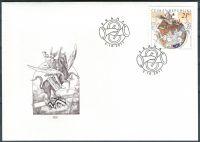 (2011) FDC 698 - Světový den pošty