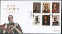 (2016) FDC MiNr. 2002 - 2007 ** - Jersey - 80. výročí úmrtí krále Jiřího V.