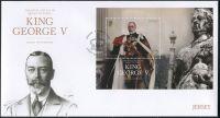 (2016) FDC MiNr. 2008 ** - Jersey - BLOCK 138 - král Jiří V.