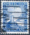 (1925) MiNr. 374 - O - Deutsches Reich - Rýn - 1000 let německý