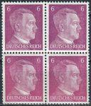 (1941) MiNr. 785 ** - Deutsches Reich - 4-bl - Adolf Hitler