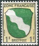 (1946) MiNr. 1 ** - Francouzská zóna - Erb francouzských zemí