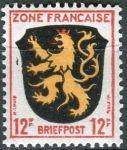 (1945) MiNr. 6 ** - Francouzská zóna - Erb francouzských zemí